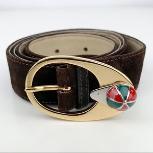 GUCCI Rare Vintage Jockey Belt
